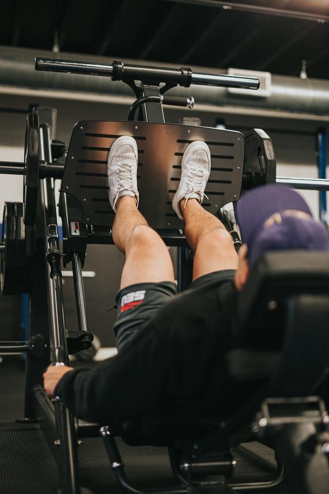 ejercicios con máquinas