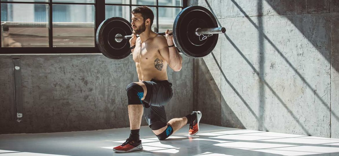 Lunge-with-Barbell